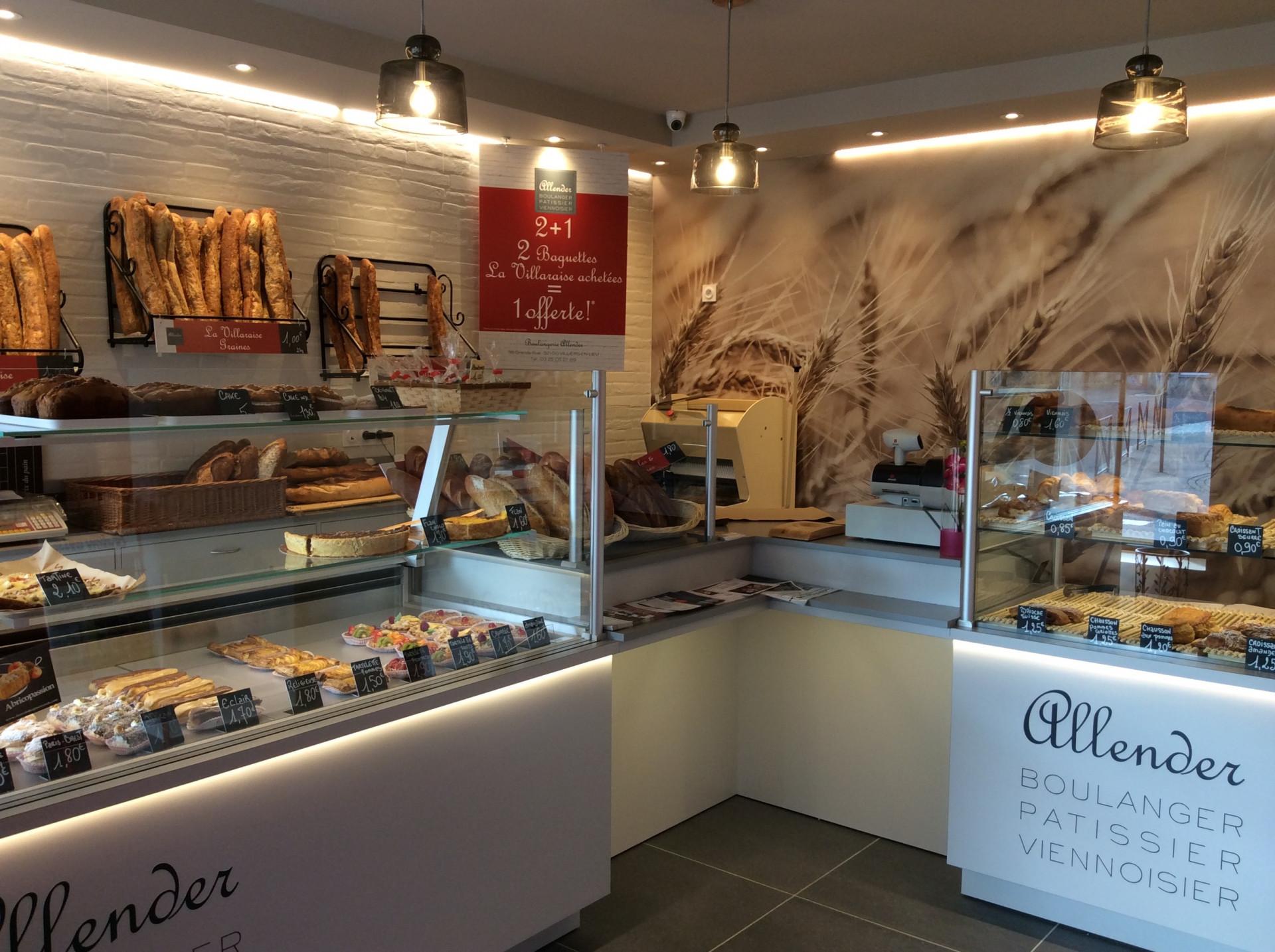 Rénovation d'une boulangerie Boulangerie Pâtisserie Allender à Villers-en-Lieu