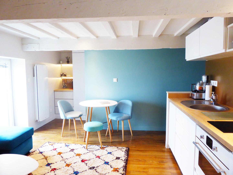 Sweet home Réhabilitation appartement à Saint Malo