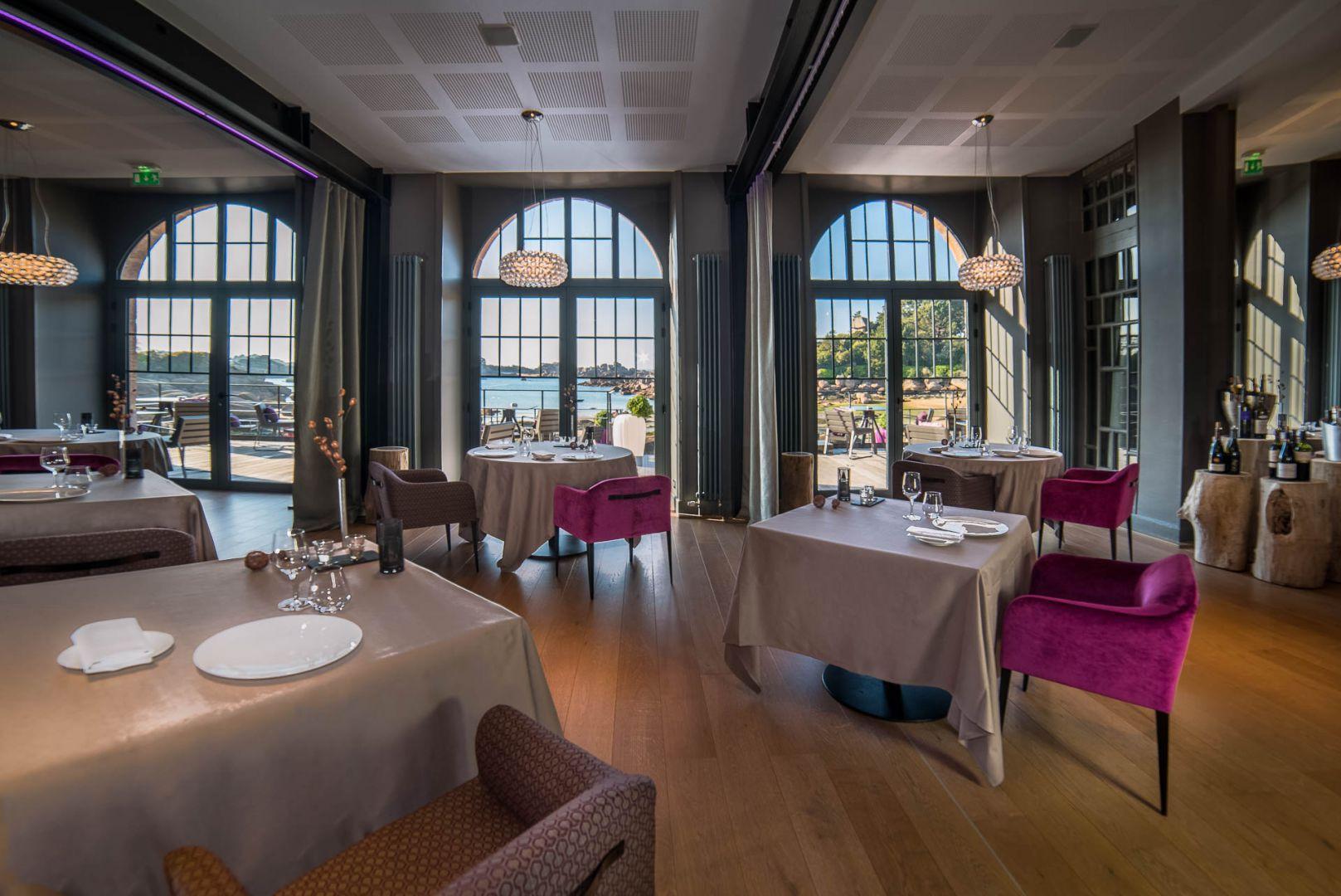 Rénovation du Restaurant Hôtel Castel Beau Site **** à Ploumanac'h
