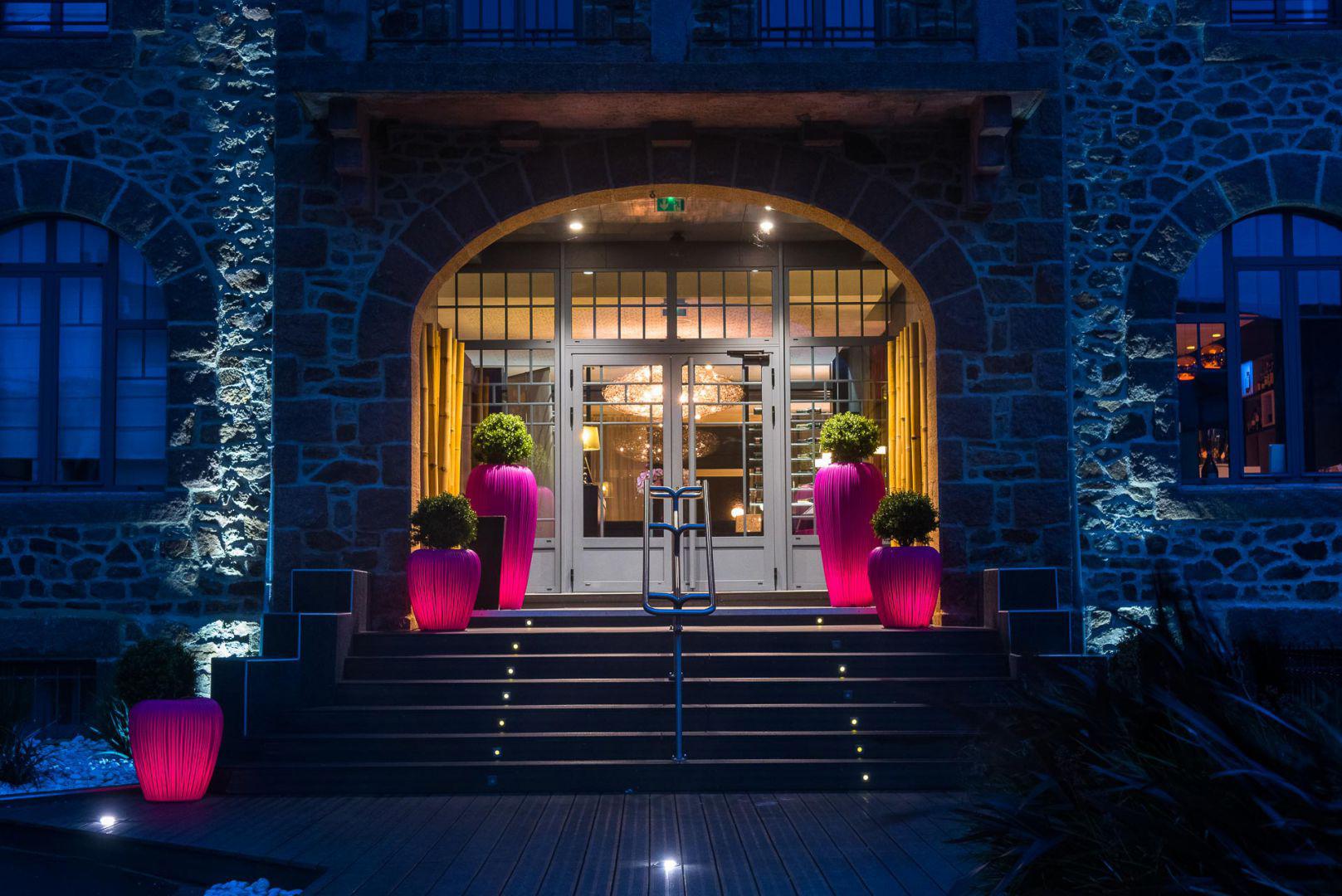 Espaces extérieurs Hôtel Castel Beau Site **** à Ploumanac'h